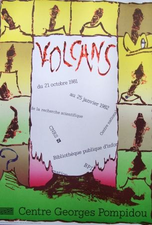 Poster Alechinsky - Volcans
