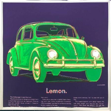Screenprint Warhol - Volkswagen (FS II.358)