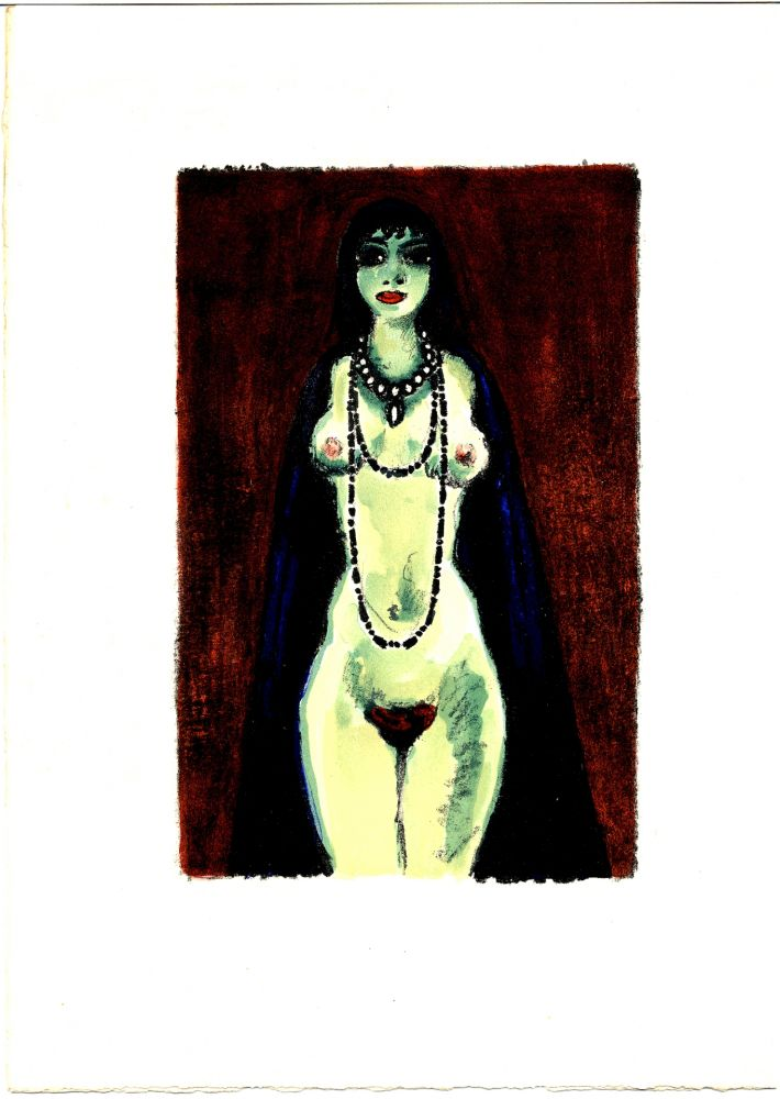 Illustrated Book Van Dongen - Voltaire : LA PRINCESSE DE BABYLONE. 48 lithographies en couleurs (1948)