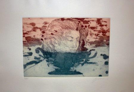 Engraving Galliani - Volto