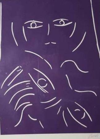 Lithograph Guidi - VOLTO