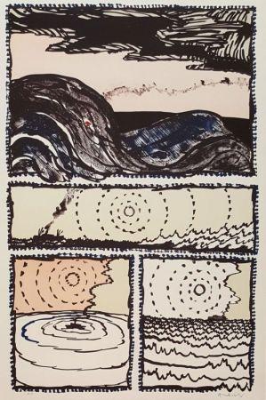 Lithograph Alechinsky - Volturno
