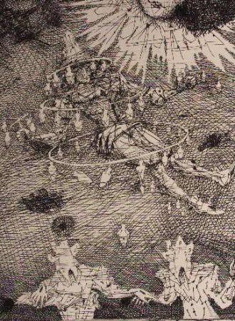 Engraving Coutaud - Voyage dans la lune 3