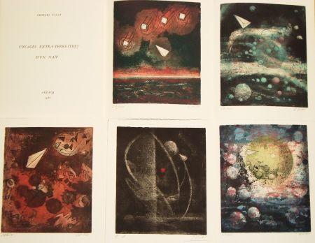 Illustrated Book Visat - Voyages extra-terrestres d'un naïf