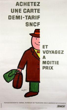 Lithograph Savignac - Voyagez à Moitié Prix