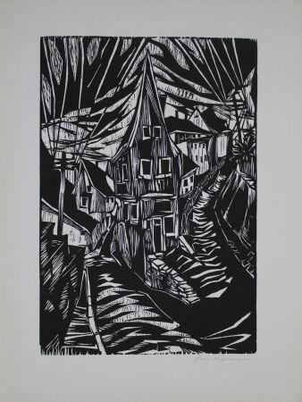 Woodcut Kupfernagel - Waldenburg