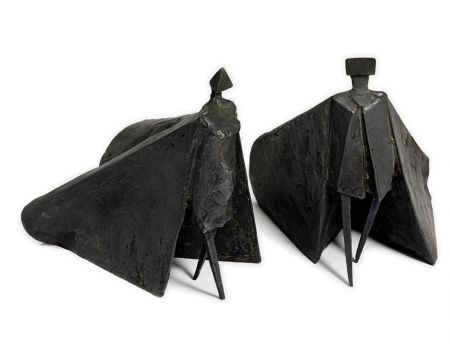 Multiple Chadwick - Walking Cloaked Figures VII