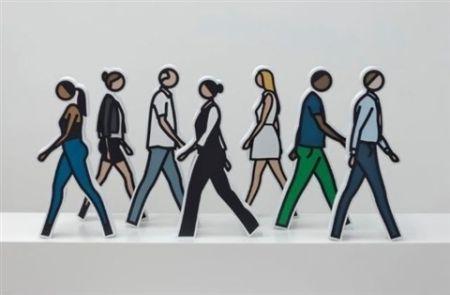 Multiple Opie - Walking Statuettes