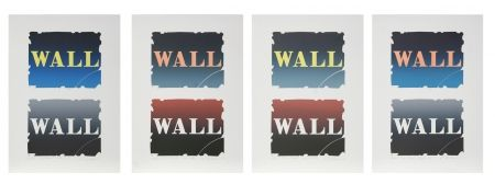 Lithograph Indiana - Wall Series: Two Stone