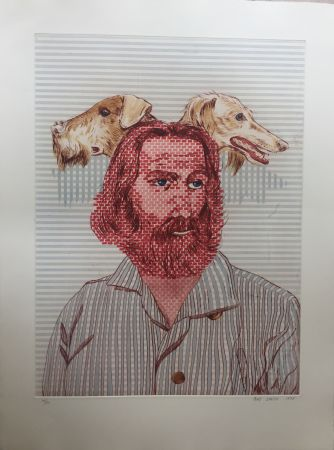 Etching And Aquatint Smith - Walt Whitman