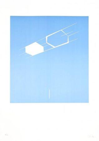 Lithograph Caldas - Waltercio Caldas WC 56 8