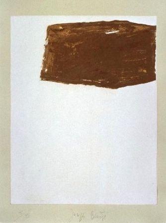 Lithograph Beuys - Wandernde Kiste Nr. 2