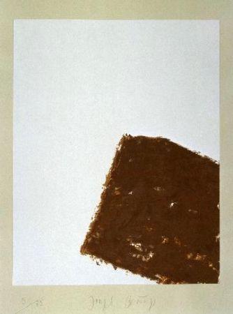 Lithograph Beuys - Wandernde Kiste Nr. 3