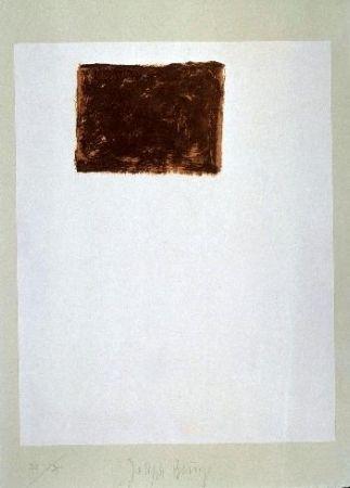 Lithograph Beuys - Wandernde Kiste Nr. 5