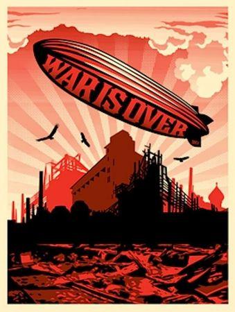 Screenprint Fairey - War Is Over