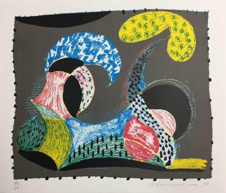 Screenprint Hockney - WARM START