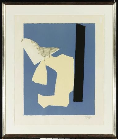 Lithograph Motherwell - Water's Edge