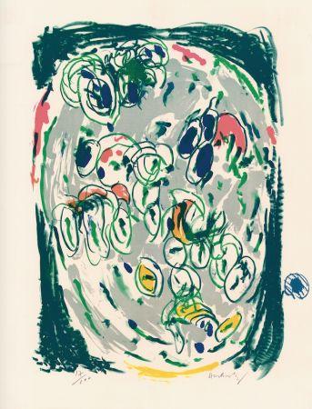 Lithograph Alechinsky - Waterzoi