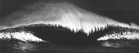 Screenprint Longo - WAVE