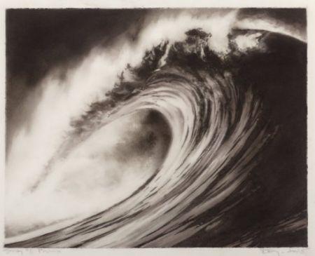 Lithograph Longo - Wave #8 portfolio
