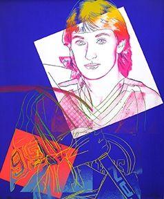 Screenprint Warhol - Wayne Gretsky