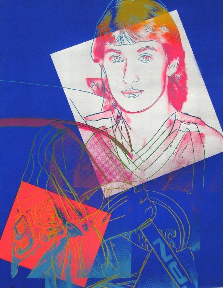 Screenprint Warhol - Wayne Gretzky (FS II.306)