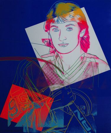 Screenprint Warhol - Wayne Gretzky (FS II.306)
