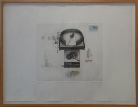 Etching And Aquatint Hwang - Weather Forecast-722