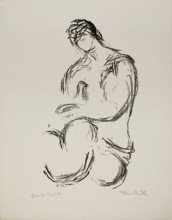 Lithograph Stadler - Weiblicher Akt / Female Nude