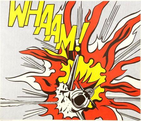Lithograph Lichtenstein - Whaam!