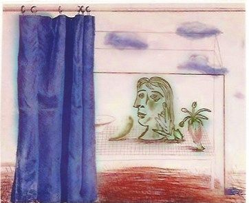 Etching Hockney - What is this Picasso?