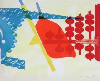 Screenprint Rosenquist - Whipped butter for Eugen Ruchin