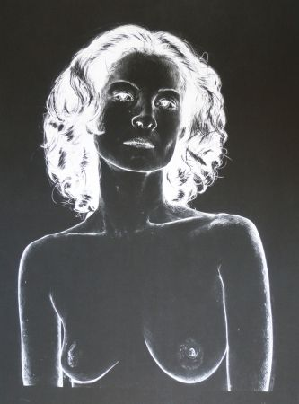 Lithograph Rodriguez - White 4