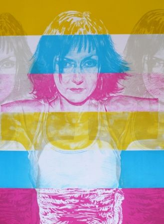 Lithograph Rodriguez - White 5