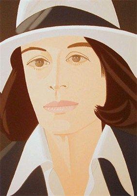Screenprint Katz - White Hat