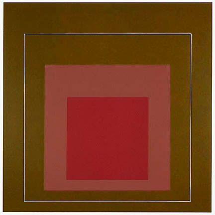 Lithograph Albers - White Line Square IV, 1966