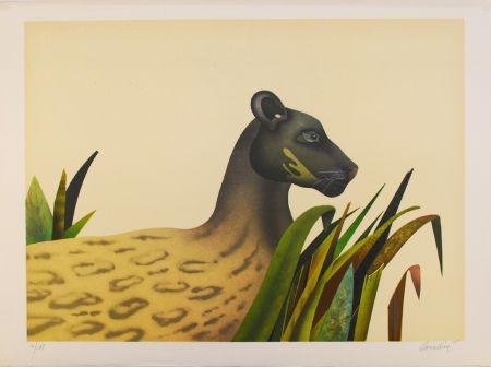 Lithograph Donadini - Wildcat