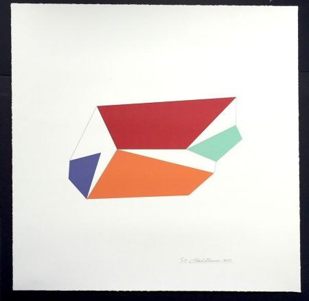 Screenprint Hinman - Wind, from Kites Suite