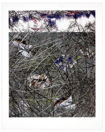 Lithograph Myrvold - Winter Clouds II