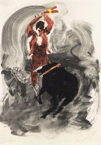 Lithograph Fischl - Without title 1