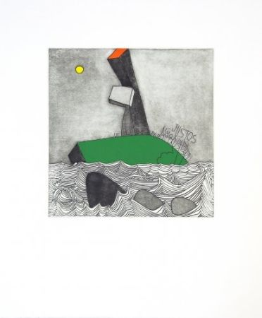 Etching And Aquatint Benmayor - Without title 1