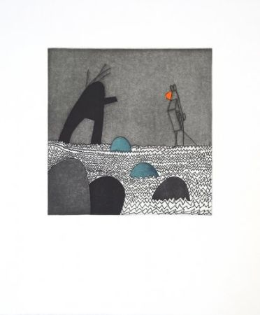 Etching And Aquatint Benmayor - Without title 2