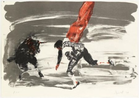Lithograph Fischl - Without title 2