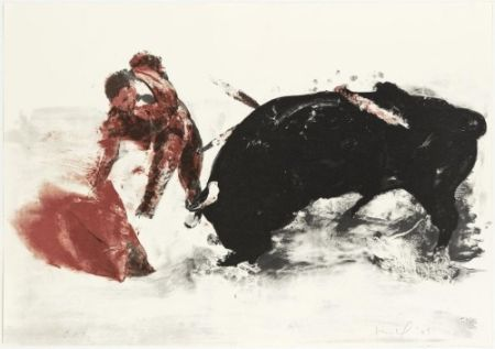 Lithograph Fischl - Without title 3