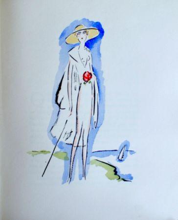 Pochoir Van Dongen - Woman with a Cane
