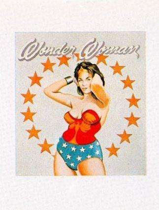 Lithograph Ramos - Wonder Woman