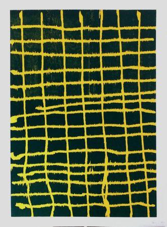 Woodcut Forg - Woodcut Yellow Green