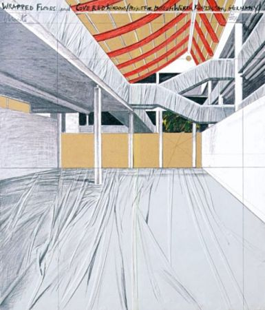 Multiple Christo - Wrapped Floors and Covered Windows, Museum Würth