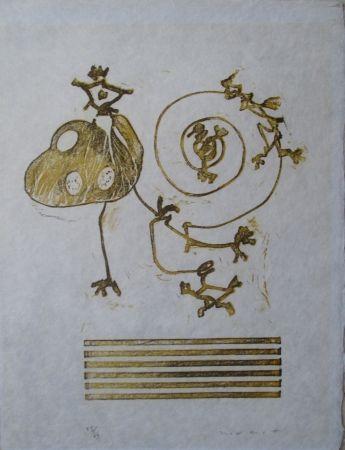 Lithograph Ernst - Wunderhorn, XXIX