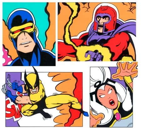 Screenprint Crash - X-Men Portfolio-